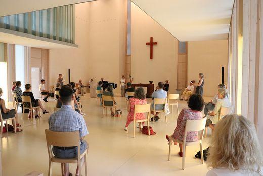 Gottesdienst unter Coronabedingungen