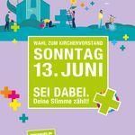 Plakat zur Kirchenvorstandswahl